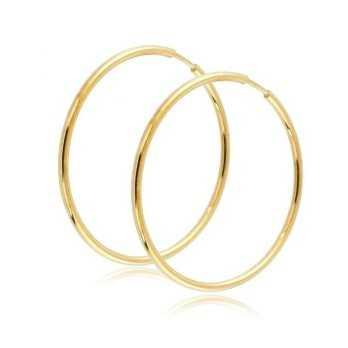 Orecchini Donna Orecchini Cerchio 36mm in oro giallo