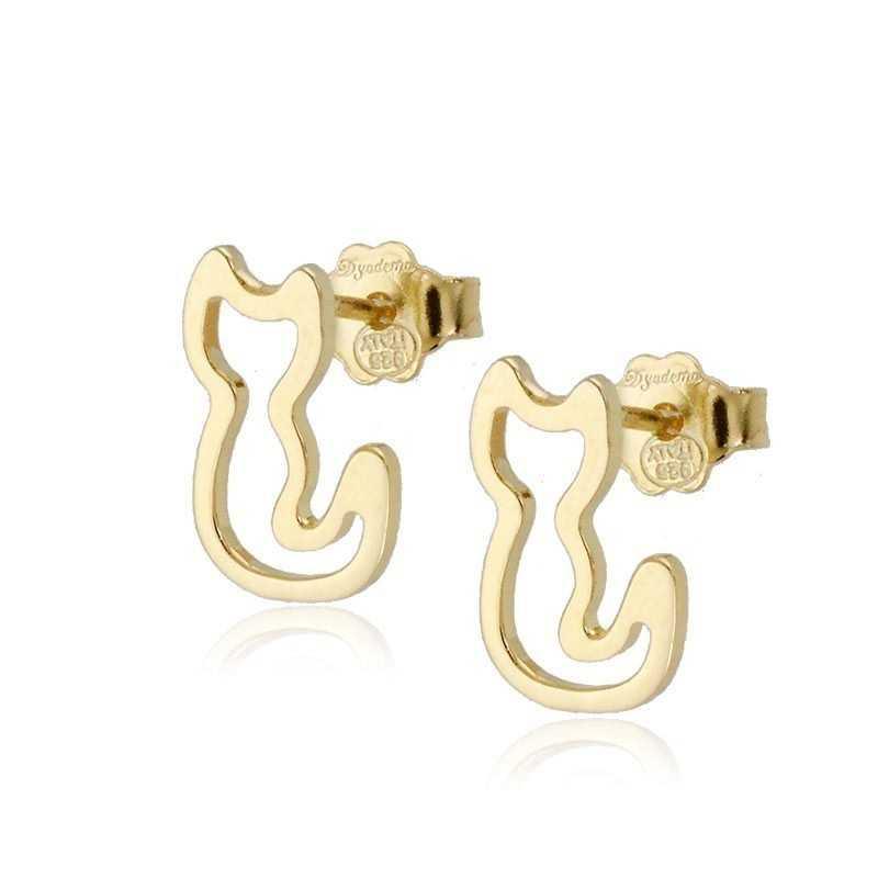 Orecchini Donna Orecchini a gattino in argento oro Zoppi Gioielli - Multibrand