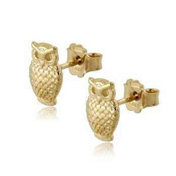 Orecchini Donna Orecchini a gufo in argento oro Zoppi Gioielli - Multibrand