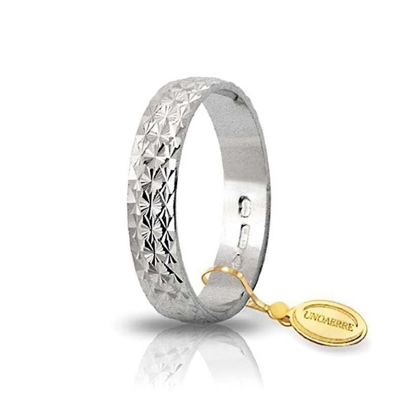 Fedina unoaerre in oro AF161/3 Unoaerre Italian jewellery Fedine in oro 1R-AF161/3