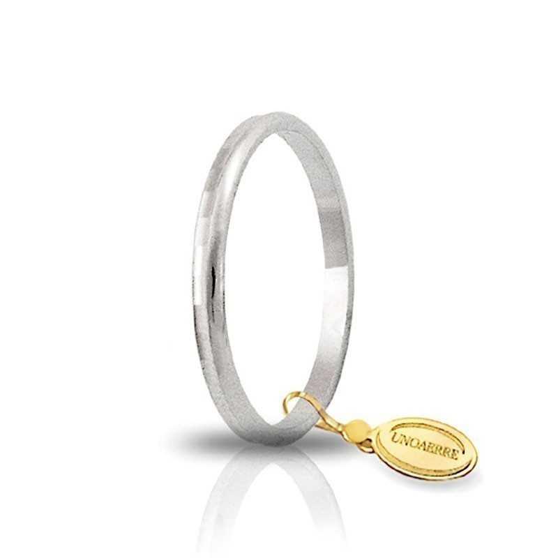 Fedina unoaerre in oro AF271 Unoaerre Italian jewellery Fedine in oro 1R-AF271B