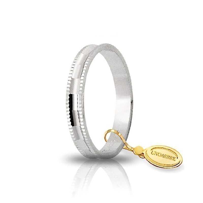 Fedina unoaerre in oro AF240B Unoaerre Italian jewellery Fedine in oro 1R-AF240B
