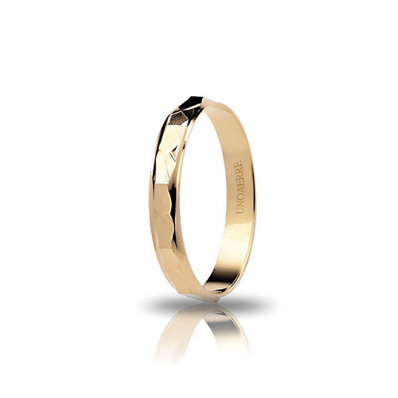 Fedina unoaerre in oro AF293GUnoaerre Italian jewellery Fedine 120,00€ 1R-AF293G