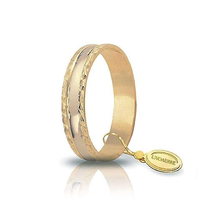 Fedina unoaerre in oro AF235G Unoaerre Italian jewellery Fedine in oro 1R-AF235G