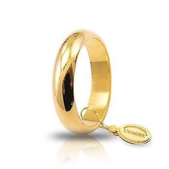 Fede classica unoaerre 70AFN1G Unoaerre Italian jewellery Fedi Classiche 70AFN1G