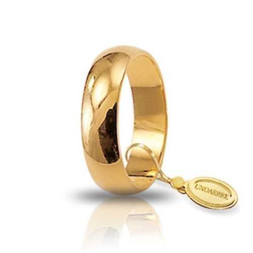 Fede classica unoaerre 60AFN7Unoaerre Italian jewellery Fedi Anelli Nuziali 380,00€ 60AFN7