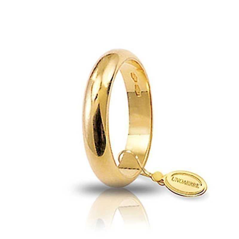 Fede classica unoaerre 60AFN1G Unoaerre Italian jewellery Fedi Classiche 60AFN1G