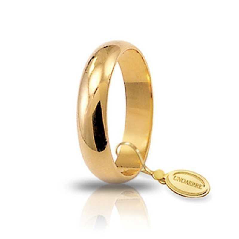 Fede classica unoaerre 50AFN6GUnoaerre Italian jewellery Fedi Classiche 306,00€ 50AFN6G
