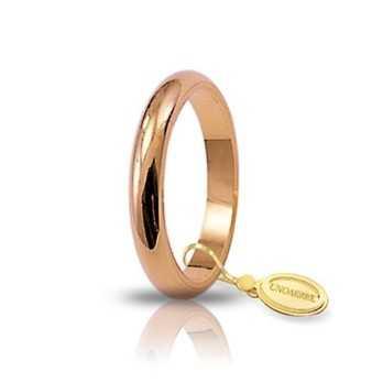 Fede classica unoaerre 40AFN4 rosaUnoaerre Italian jewellery Fedi Anelli Nuziali 270,00€ 40AFN4