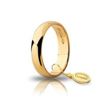 Fede classica unoaerre 40AFN6G Unoaerre Italian jewellery Fedi Classiche 40AFN6G