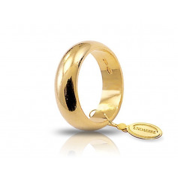 Fede classica unoaerre 100AFN1 Unoaerre Italian jewellery Fedi Classiche 100ANF1