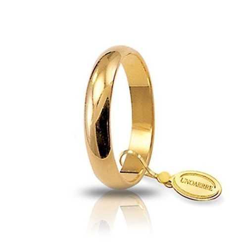 Fede classica unoaerre 40AFN1G Unoaerre Italian jewellery Fedi Classiche 40AFN1G