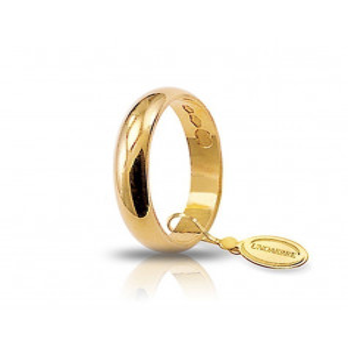 Fede classica unoaerre 30AFN1G Unoaerre Italian jewellery Fedi Classiche 30AFN1G
