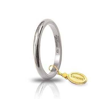 Francesina unoaerre 30AFN4B bianca Unoaerre Italian jewellery Fedi Classiche 30AFN4B