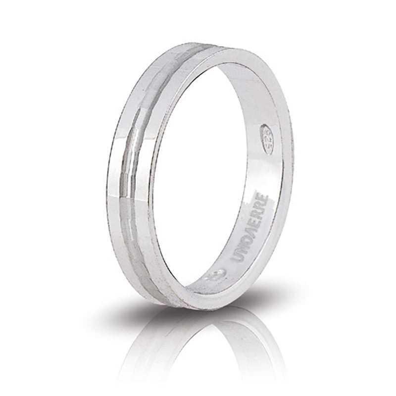 Fedina unoaerre in argento AF286Unoaerre Silver jewellery Fedine 24,00€ 1R-AF286