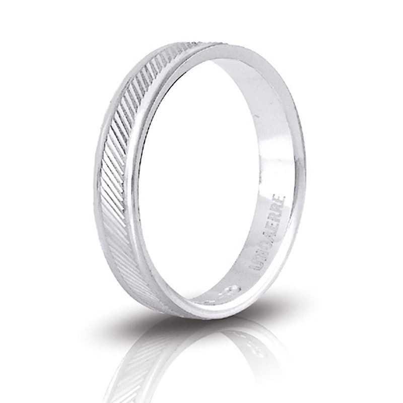 Fedina unoaerre in argento AF289 Unoaerre Silver jewellery Fedine in Argento 1R-AF289