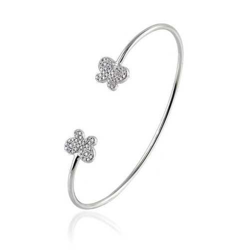 Bracciale rigido in argento con farfalleByblos jewels Bracciali Donna 29,00€ BB-9214
