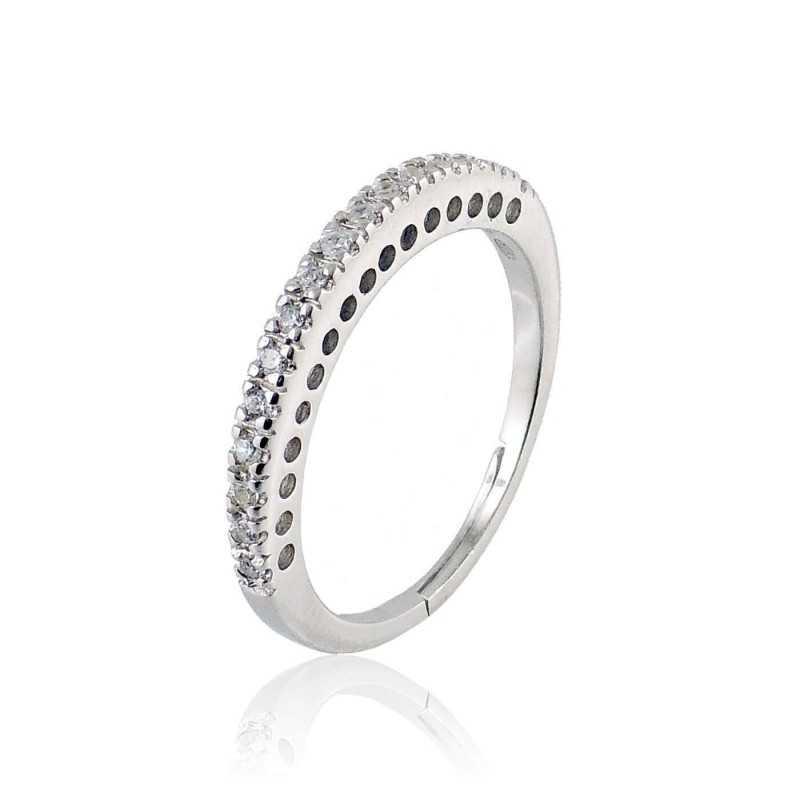 Anello a riviera in argento 16 pietrePuca Jewels Anelli Donna 26,00€ PJ-AN9106