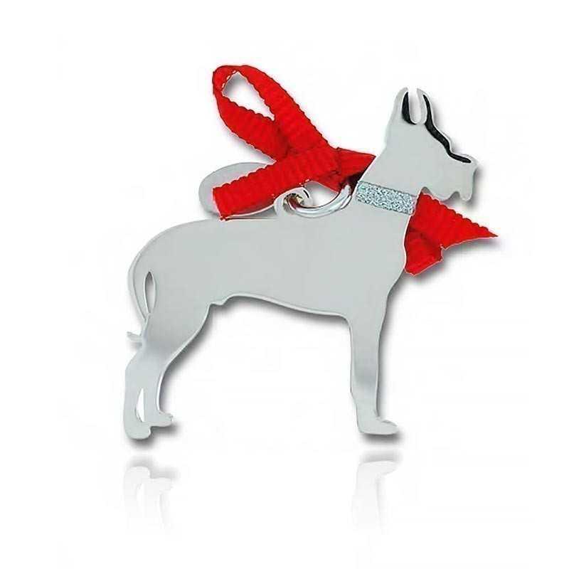 Ciondolo Cane Alano Unoaerre Silver jewellery Happy Pets 1R-AG1263
