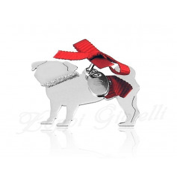 Ciondolo Cane Carlino  Happy Pets 1R-AG1006