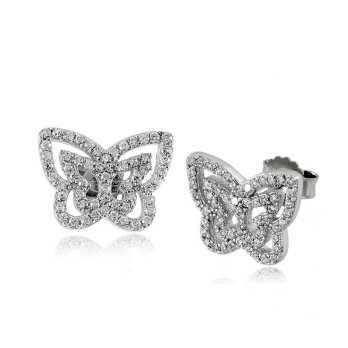 Orecchini toppe farfalla sfaccettataPuca Jewels Orecchini Donna 15,00€ MP-AG7OR/F