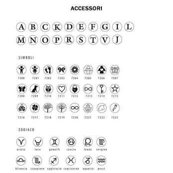 Collana personalizzabile con simbolo (9mm)