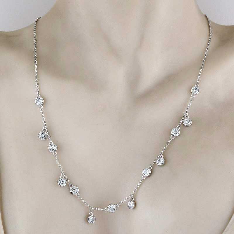 Collana con ciondoli in Argento e SwarovskiOsa jewels Collane Donna 49,00€ OSA6468