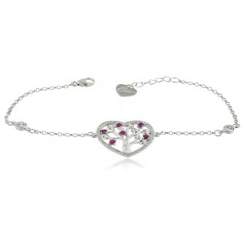 Bracciale Cuore albero dell'amore in argento Osa jewels Bracciali Donna OSA6859