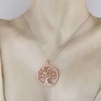 Collane Donna Collana Albero dell'Amore (big) in argento Osa jewels