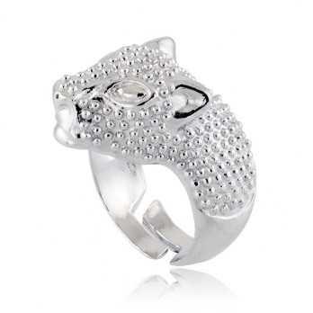 Anello a Leopardo in argento 925