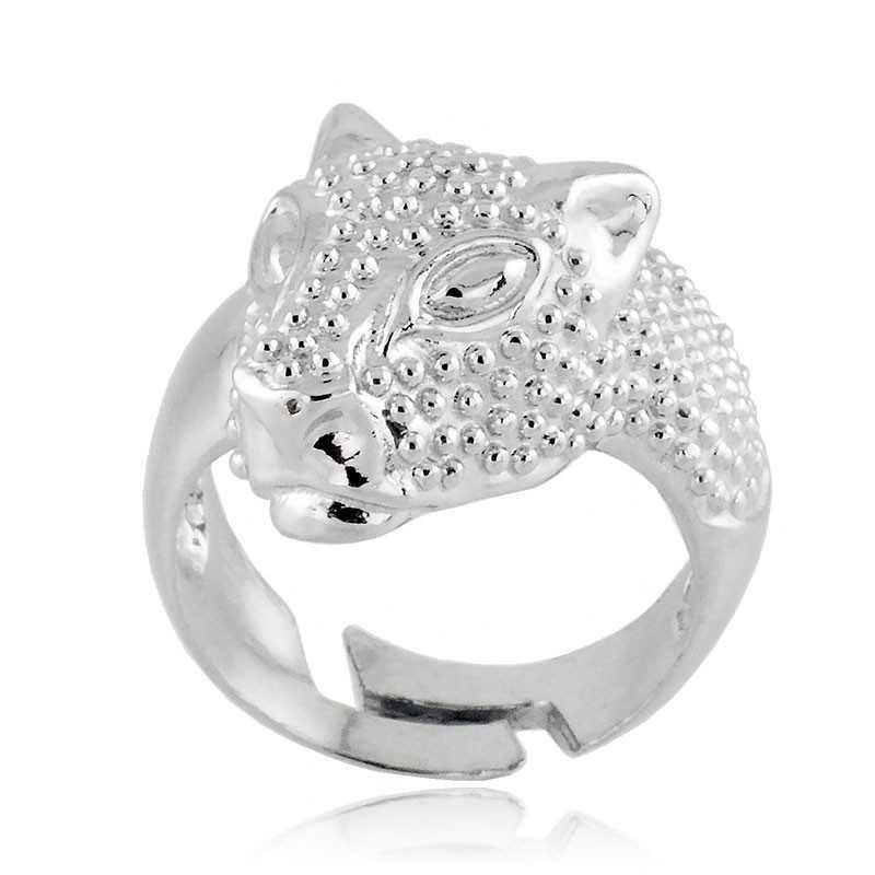Anelli Donna Anello a Leopardo in argento 925 Alexia Gioielli