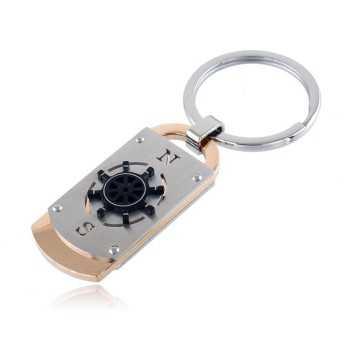 Portachiavi in acciaio con timone Zoppi Gioielli bijoux Accessori Uomo PT1001ACU