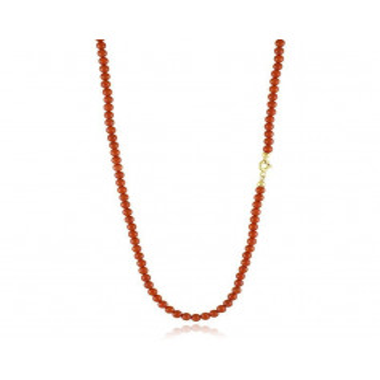 Collana di corallo 3,5 mm chiusura in oro Zoppi Gioielli jewelry Gioielli con Perle CLC900B7M