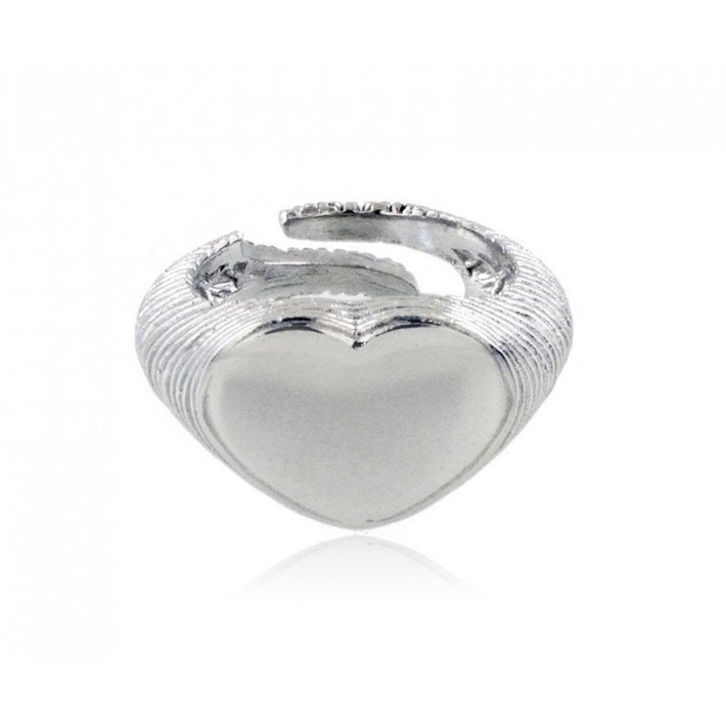 Anelli Donna Anello a cuore in argento 925 Alexia Gioielli