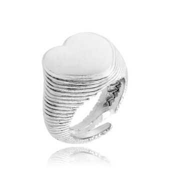 Anello a cuore in argento 925 Alexia Gioielli Anelli Donna RB-ANMC36AG