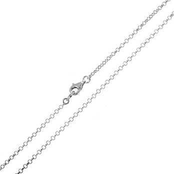 Catenina a rolò in argento 45cmZoppi Gioielli - Multibrand Catene e catenine 15,00€ CTR255AG45