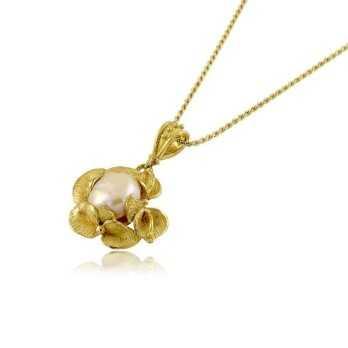 Collana con ciondolo artigianale in oro giallo Zoppi Gioielli jewelry Collane Donna CLA900AU