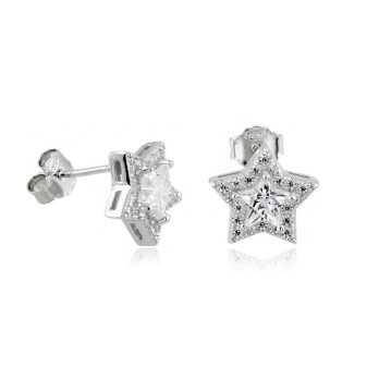 Orecchini Donna Orecchini a stella in argento e pietre Alexia Gioielli