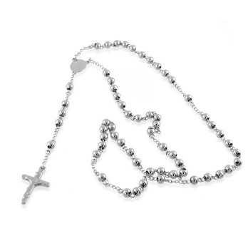 Collana a rosario in acciaio Alexia Gioielli Collane religiose RB-CL8AC