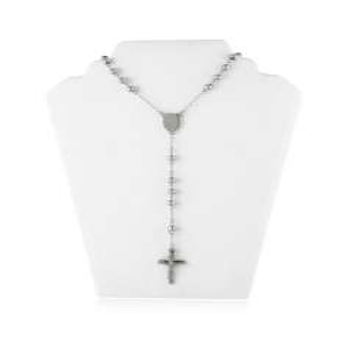 Collana a rosario in acciaio Collane 10,00€