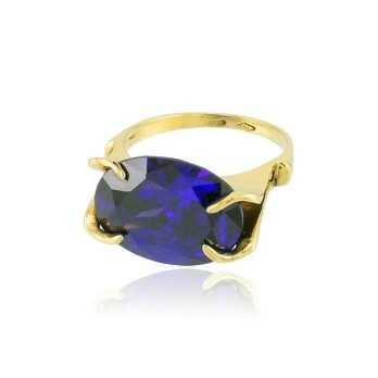 Anello in oro con ametista Zoppi Gioielli jewelry Anelli Donna AU-AND101