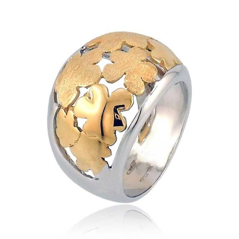 Anello a fascia traforato in oro Zoppi Gioielli jewelry Anelli Donna AU-AND114B