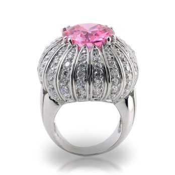 Anello a bocciolo con pietra fucsia Puca Jewels Anelli Donna MP-AG30/AN6