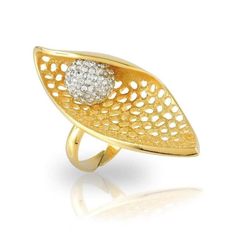 Anello a spoletta in argento dorato Puca Jewels Anelli Donna MP-AG2400/2