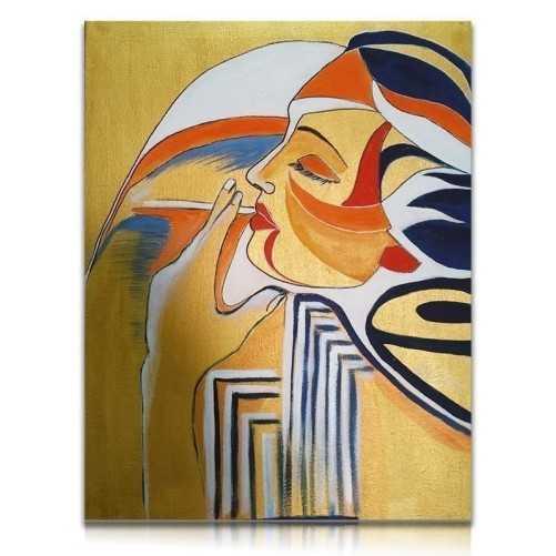 Ritratto su tela dipinto a manoAnna Maria Zoppi - Painter Dipinti 300,00€ RIT100P