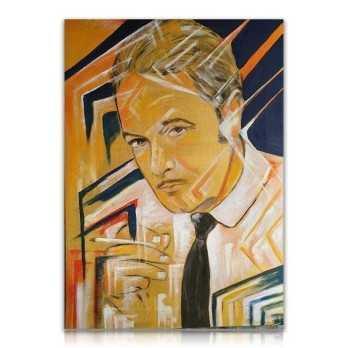 Ritratto su tela dipinto a mano Dipinti 300,00€