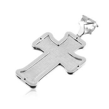 Croce con preghiera in argento Zoppi Gioielli bijoux Croci e Medaglie CN180AG4