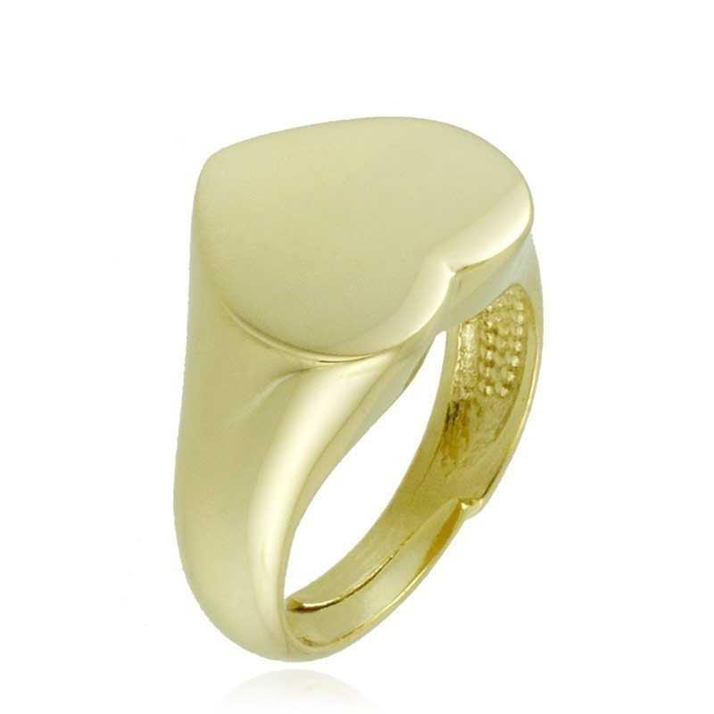 Anello da mignolo a cuore in argento lucido Alexia Gioielli Anelli Donna RB-ANM20AGR