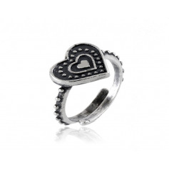 Anello in argento a cuore antichizzato Alexia Gioielli Anelli Donna RB-ANC110AG