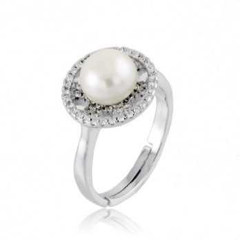 Anello in argento con perla Alexia Gioielli Anelli Perla RB-ANP190AG